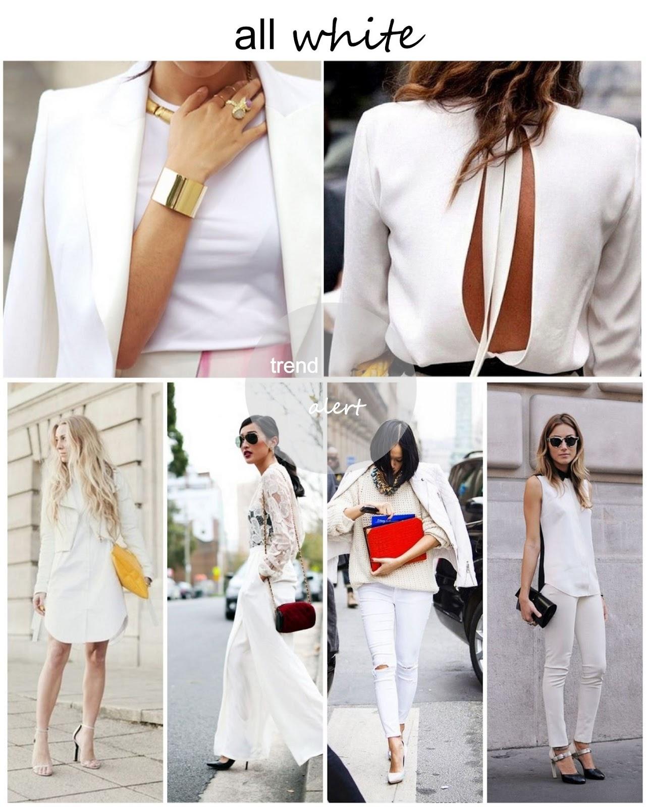 trend alert all white